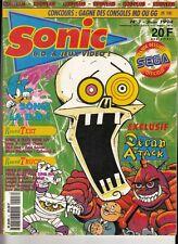 SONIC MAG N° 3 JUIN 1994 / RETROGAMING JEUX VIDEO NINTENDO SEGA