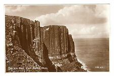 The Kilt Rock - Loch Staffin Skye Real Photo Postcard c1930s