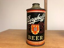 Berghoff Dortmunder Style Low Profile Cone Top Beer Can