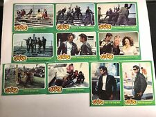 VINTAGE 1978 Topps Grease Trading Cards - LOT of 25 - Green Series