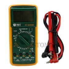 DT9205M LCD Digital Multimeter Voltmeter Ohmmeter Ammeter Capacitance Tester