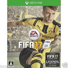 FIFA 17 MICROSOFT XBOX ONE   JAPANESE NEW JAPANZON