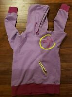 Zumba Move Me Purple Green Sparkling Hoodie Womens Size Large