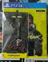 Special Keyring Brand New Sealed Cyberpunk 2077 PS4 Playstation 4 +Extra Content