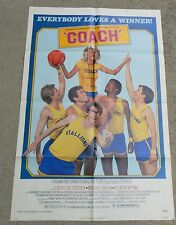 COACH MOVIE POSTER  CATHY LEE CROSBY Basketball 1978