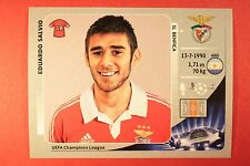 PANINI CHAMPIONS LEAGUE 2012/13 N. 474 SALVIO BENFICA BLACK BACK MINT!