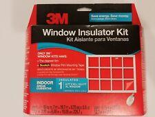"3M Insulator Kit Clear Film Insulates Large 6'8""x19.5' Window Winter Insulation"