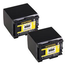 2x Batteria Patona 7,4V 1780mAh per Canon LEGRIA HF G10,HF G25,HF G26,HF G30