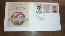 1997 DON BRADMAN AUSTRALIAN LEGENDS FDC, ASHES CRICKET TIED PSE BOWRAL PM 2