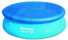 Bestway Flowclear Fast Set 8ft Swimming Pool Debris Protective Cover