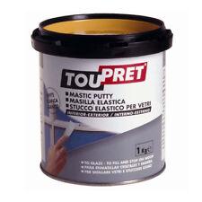 Interior And Exterior Use Tou Pret Glazing Putty 1Kg  FREE P&P