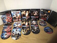 PS2 WWE Smackdown VS. Raw 2007,2008,2009,2010 Tna Impact, Smackdown SYM,Read Des