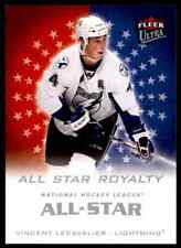 2008-09 Ultra All-Star Royalty Vincent Lecavalier #ASR4