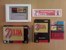 ★ THE LEGEND OF ZELDA A LINK TO THE PAST Super Nintendo SNES PAL ESPAÑA ☆ MBE