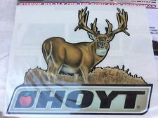 Hoyt Whitetail Deer Archery Decal