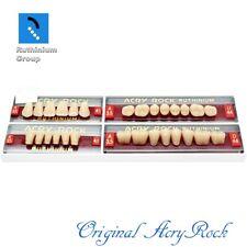 4pcs Set Acrylic Dental Lab Teeth Ruthinium Acryrock Teeth A35 Size 41 Mouth