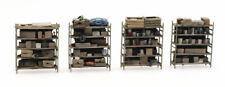 HO Roco Artitec Parts Storage Shelves (4) DP236.387.434 Hand Painted Detailed