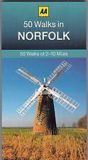 50 Walks in Norfolk by AA Publishing (Paperback) New Book