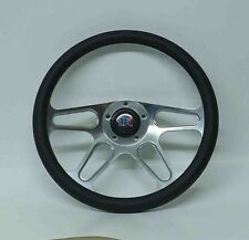 "14"" Billet Steering Wheel with 5 hole installation pattern"