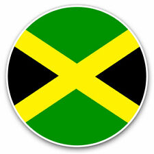 2 x Vinyl Stickers 20cm - Jamaica Flag Cool Gift #9075