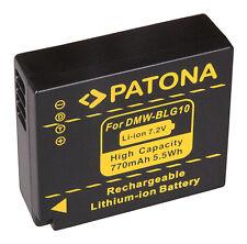 Patona Akku für Panasonic Lumix DC-TZ91, DMC-TZ81, DMC-TZ101 - DMW-BLG10-E