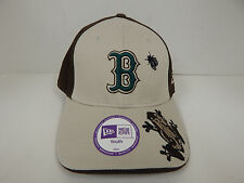 New Era Boston Redsox Youth Brown/Tan w/ Frog and Fly Adjustable Cap-NWD