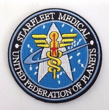 "Star Trek:Starfleet Command Medical 3.5"" Logo Deluxe Patch-Free S&H(Stpa-Sfc-14)"