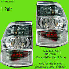 Mitsubishi Pajero NS NT NW Tail Lights 06 07 08 09 2010 2011 2012 2013 2014 Pair