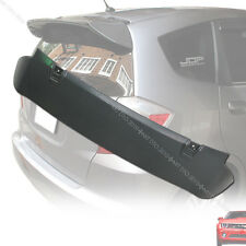 SHIP FROM LA- Hatchback Unpainted 09 12 For HONDA FIT US JAZZ  2nd Trunk Spoiler