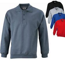 James & Nicholson Herren Sweatshirt Pullover Pulli Jacke Shirt Gr. S - XXL