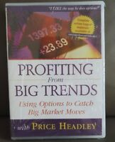 NEW Price Headley - Options Trading Course 3 DVD Set - Profiting From Big Trends