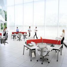 3 x Bureaux angle triple 120° modèle SENSE Hermann Miller - Idéal pour start-up