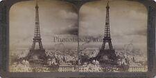France Paris Tour Eiffel Stereo Vintage Argentique