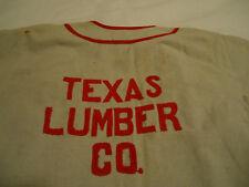 Texas Lumber Co Crushers Baseball Jersey flannel