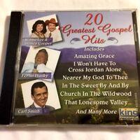 Brand New CD ~ ~ 20 Greatest Gospel Hits ~ ~ Various Artists ~ ~ NEW