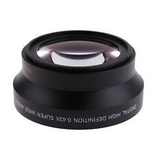 67mm Super Wide Angle Lens 0.43x &Marco Fisheye For Cameras Carnon Nikon