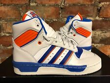 Adidas Originals RIVALRY 'KNICKS' UK6 US6.5 EUR39 1/3 WHITE BLUE F34199