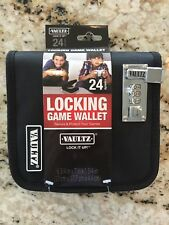 Vaultz 24 CD/DVD/Blu-Ray Locking Wallet VZ00269 NWT