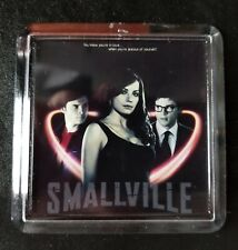 SMALLVILLE Promo Lucite Print Mini Poster Superman Tom Welling Super Rare 3.5""