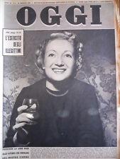 OGGI n°4 1953  Eva Peron Rosetta Calavetta   [C91]