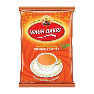 Wagh Bakri Strong & Refreshing Premium Leaf Tea Pouch 250gm Free Ship