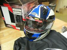 ZOX MOTORCYCLE MOTOCROSS ATV SNOWMOBILE SCOOTER HELMET - FULLFACE PRIMO C L BLUE