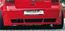 Rieger Heckansatz Diffusor Heck passend für VW Golf 4 IV 00059060 RIEGER-Tuning