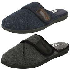 Men's Padders Memory Foam Slippers Wide Fit - Baxter