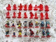 Final Fantasy X Coca Cola Promo Figure Color & Crystal Complete Set 32