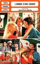 FICHE CINEMA : L'OMBRE D'UNE CHANCE - Mocky,Eggerickx 1974 Shadow of a Chance