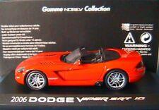 DODGE VIPER CONVERTIBLE ROUGE 2006 NOREV 950025 1/43
