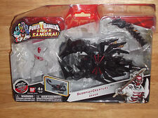Bandai POWER RANGERS Super Samurai SCORPION CREATURE & DEKER #31773 New & Sealed