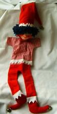 Vintage old clown toy doll figure doll theater