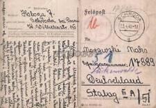 Camp Stalag IIIA Luckenwalde 1940 POW Prisoner of War Kriegsgefangenenpost (K3)